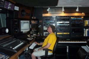 Jim at work Silent Sound studio West Hollywood